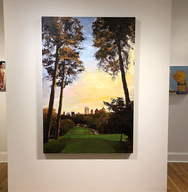 Turn any wall into a view of the best first shot in Georgia with this Ansley painting from @matregallery