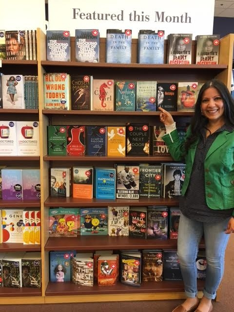 So proud to be featured alongside so many incredible authors at Chapters, Ajax.