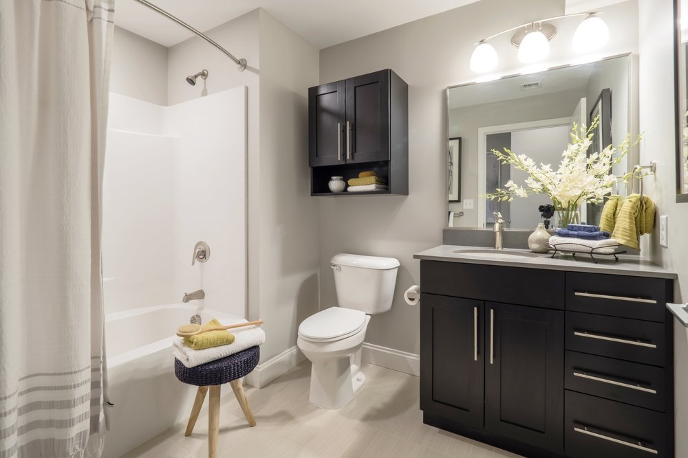 Bathrooms vary by floorplan.