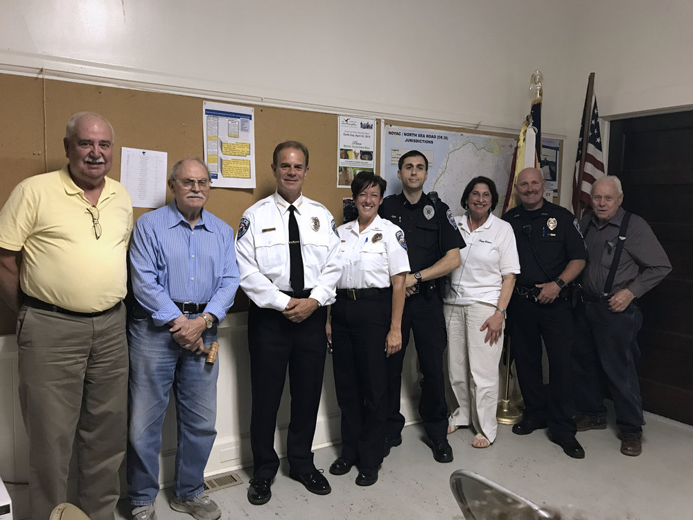 NCC welcomes Southampton Town Police
