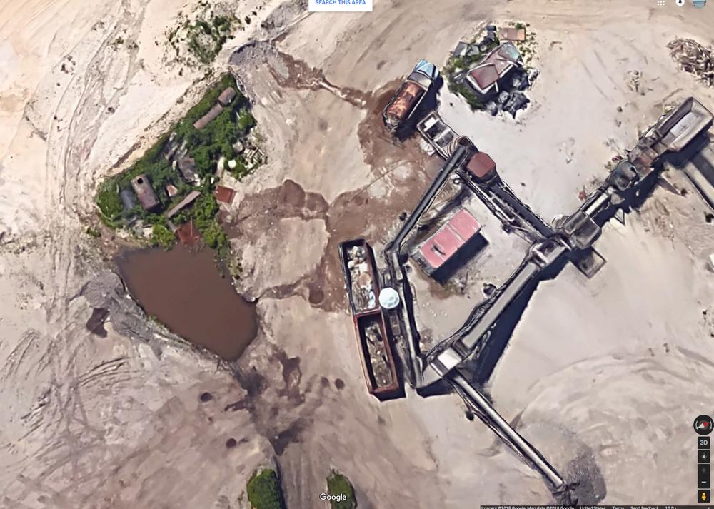 Google Satellite Image 3-4-18