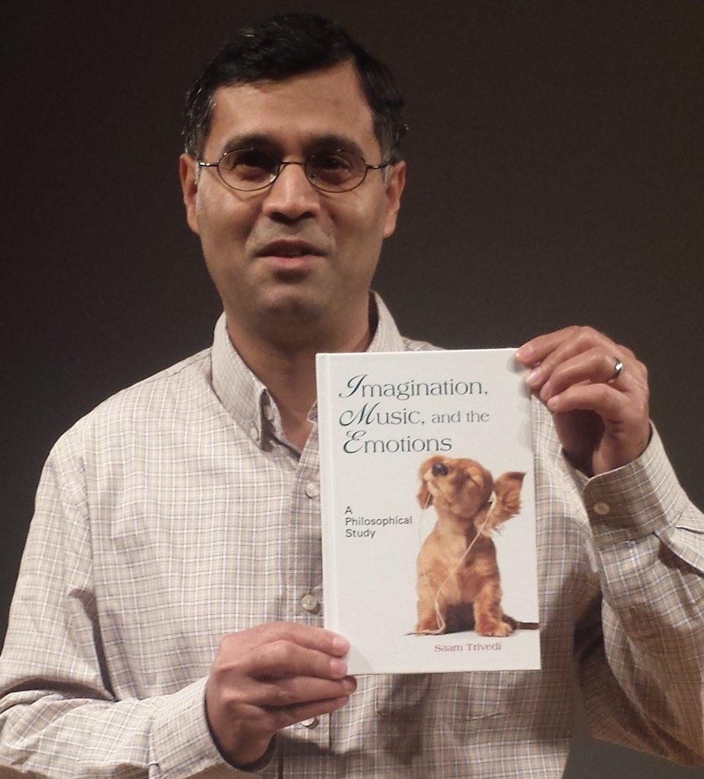 Saam Trivedi is an Associate Professor of Philosophy at Brooklyn College.  He is the author of   Imagination, Music, and the Emotions: A Philosophical Study  (2017)  and many articles.