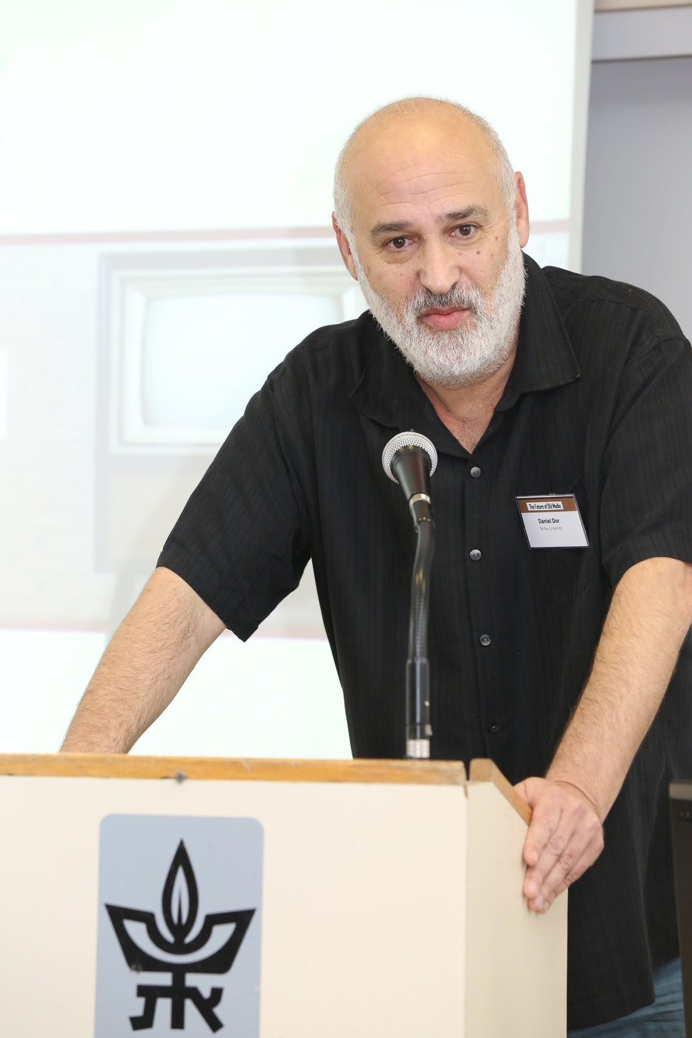 Prof. Daniel Dor, a linguist, communication researcher and political activist, teaches at the Department of Communication, Tel Aviv University. He received his Ph.D. in Linguistics from Stanford University. He has also written extensively on the role of the media in the construction of political hegemony. His  'Intifada Hits the Headlines: How the Israeli Press misreported the Outbreak of the Second Palestinian Uprising'  (Indiana University Press) was titled Book of the Year 2004 in Communication by  Choice  Magazine.