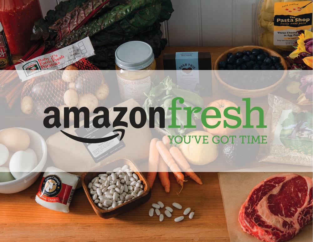 AmazonFresh - Advertising Campaign