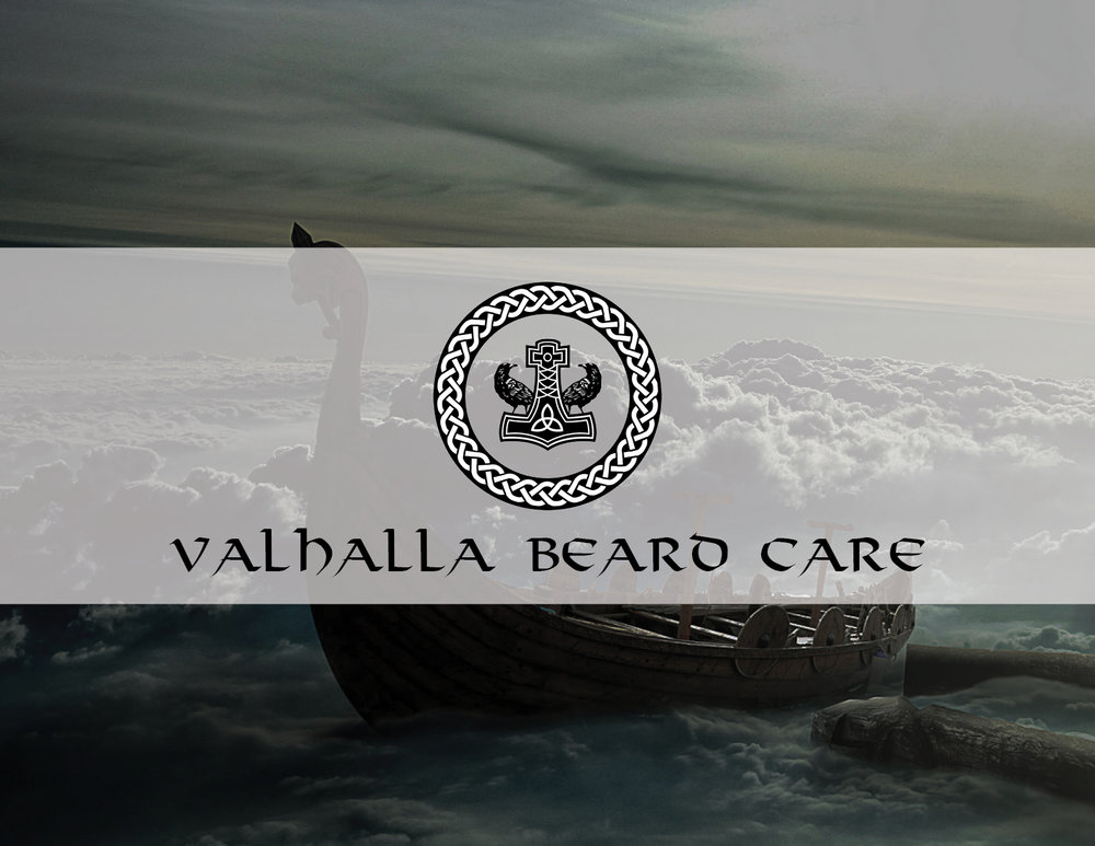 Valhalla Beard Care - Product Branding