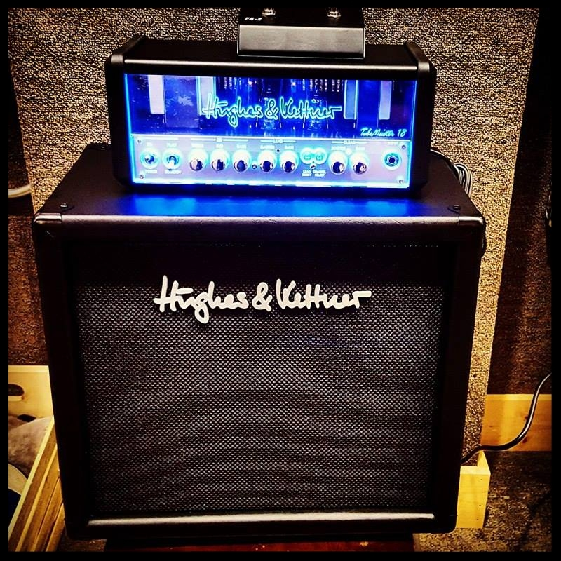 Amps-  Hughs & Kettner, Orange, Greer, Belcat,   Acoustic Solutions, Fishman, and Dean