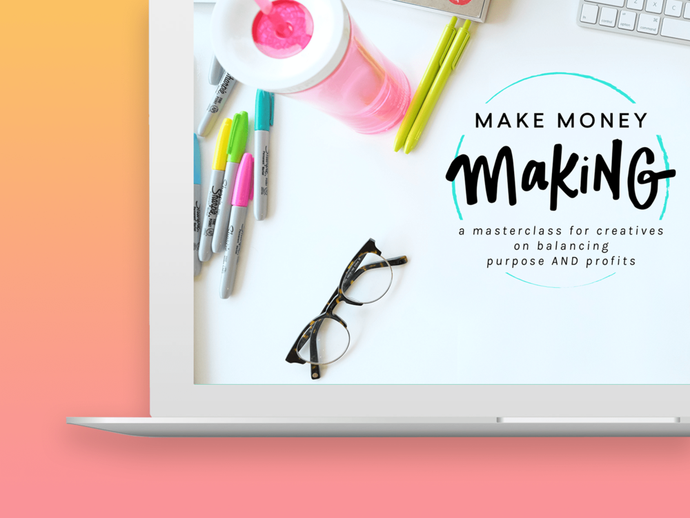 make money making - $97 value - Taught by Caroline and Jason, this masterclass is a rare blend between practical processes AND creative out-of-the-box thinking. If you want to feel motivated and empowered to turn your creative ideas into a real difference in your financial situation, this is a great place to start.