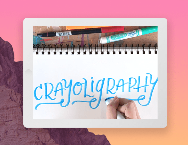 better lettering course - $20 value - Learn the basics of hand-lettering and how to create beautiful hand-lettered sketches from start to finish. In this class, Caroline goes over the fundamentals of lettering, tools you can use, different styles of lettering and how to develop your own unique lettering style.