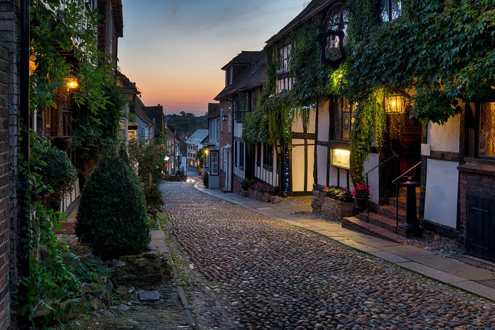 Mermaid Street, Rye - Helen Hotson, Shutterstock