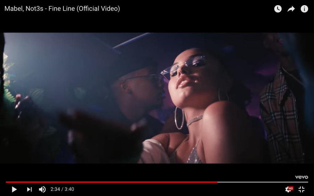 'FINE LINE' music video