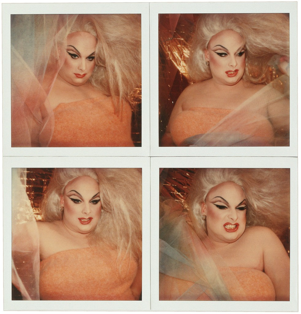 Divine Photographed by Andy Warhol, 1978
