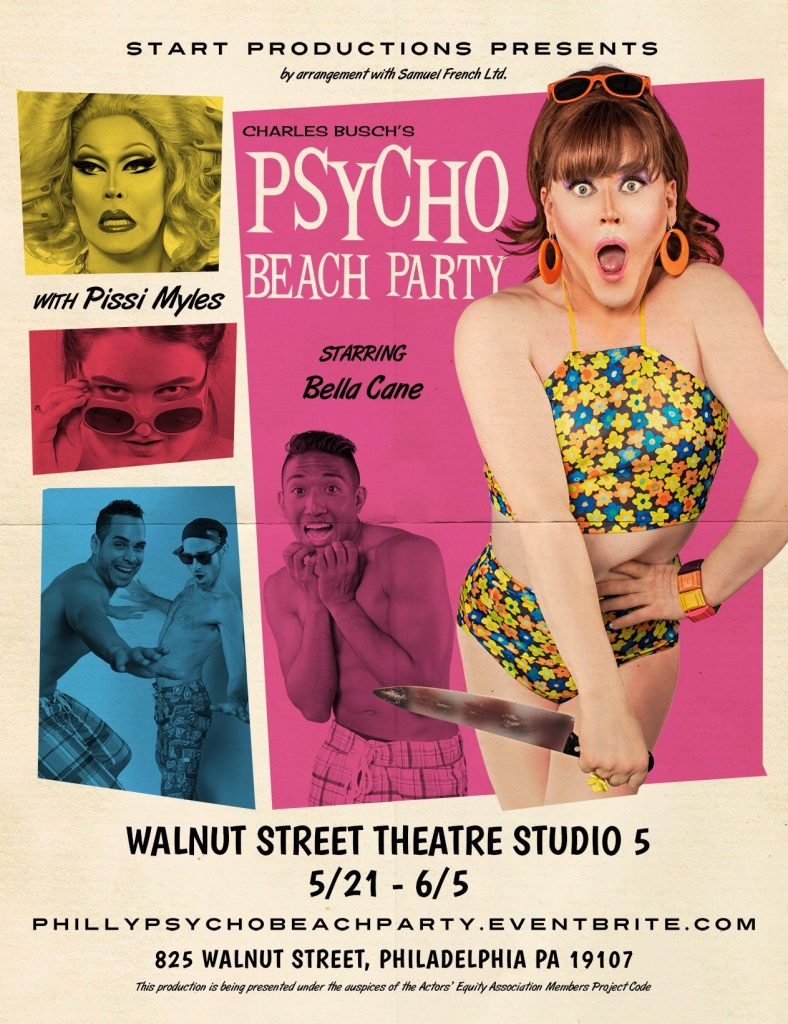 Psycho Beach Party Poster by David Ayllon