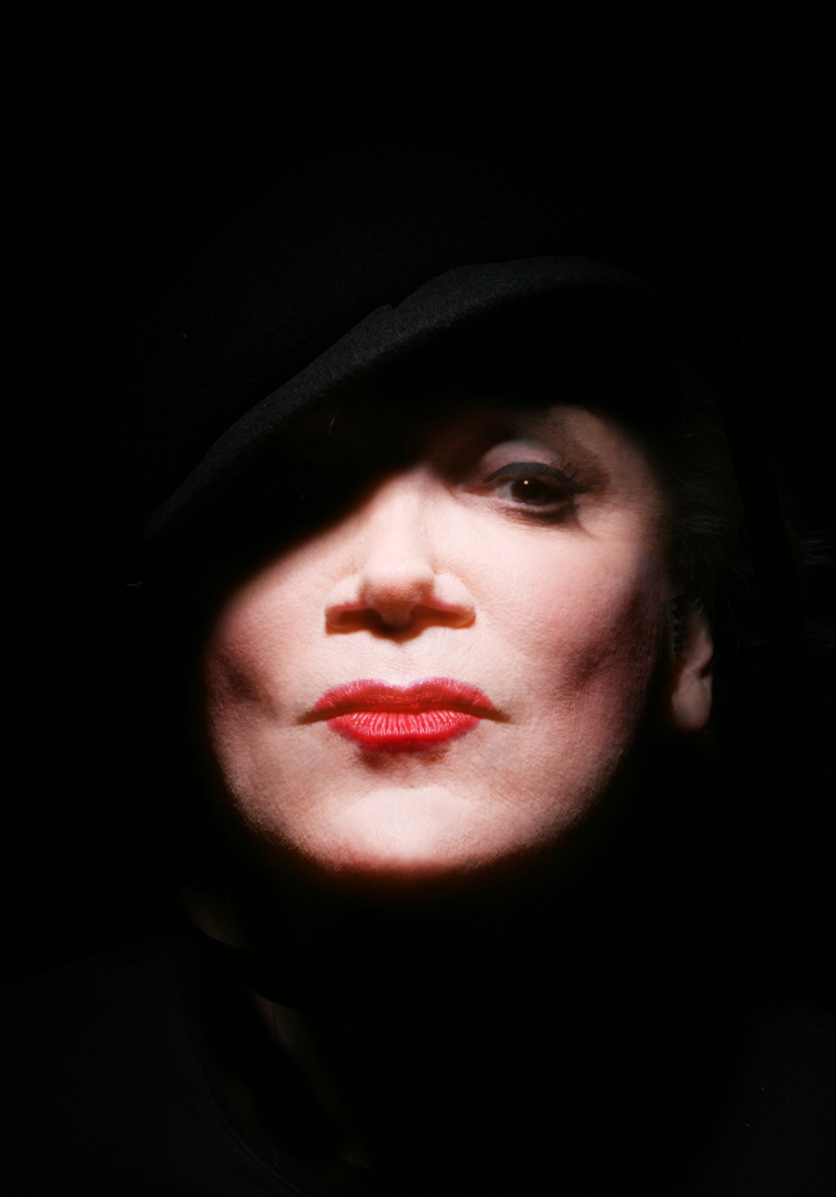 Charles Busch as Marlene Dietrich by Michael Wakefield