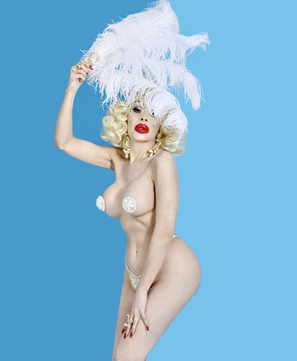 Amanda Lepore by May Lin Le Goff for Posture Magazine