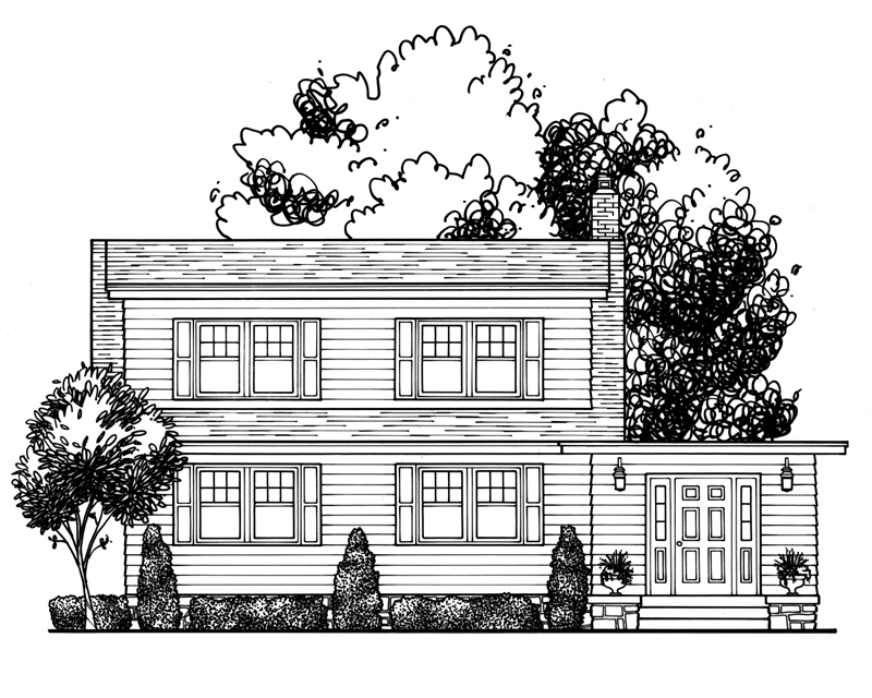 Katie Danner Home Drawing Kansas City Real Estate illustration 31.jpg