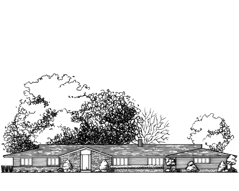 Sprawling Mid-Century Kansas Home
