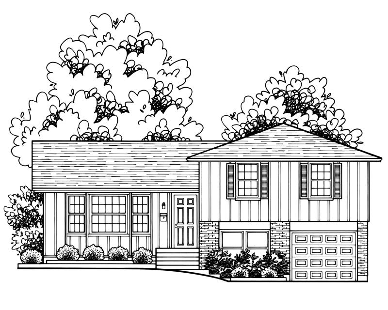 Prairie Village Split Level Home