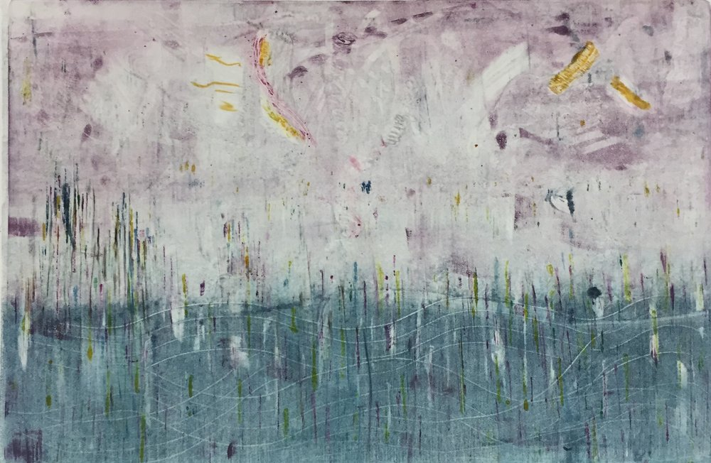 A Monotype or a  Monoprint  which is it?. . . . .     The answer is below. Way below