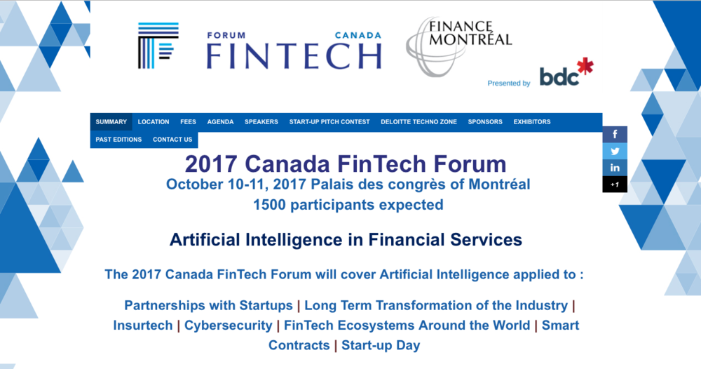 Claudio Rojas Hurt Capital Canada Fintech Forum Montreal