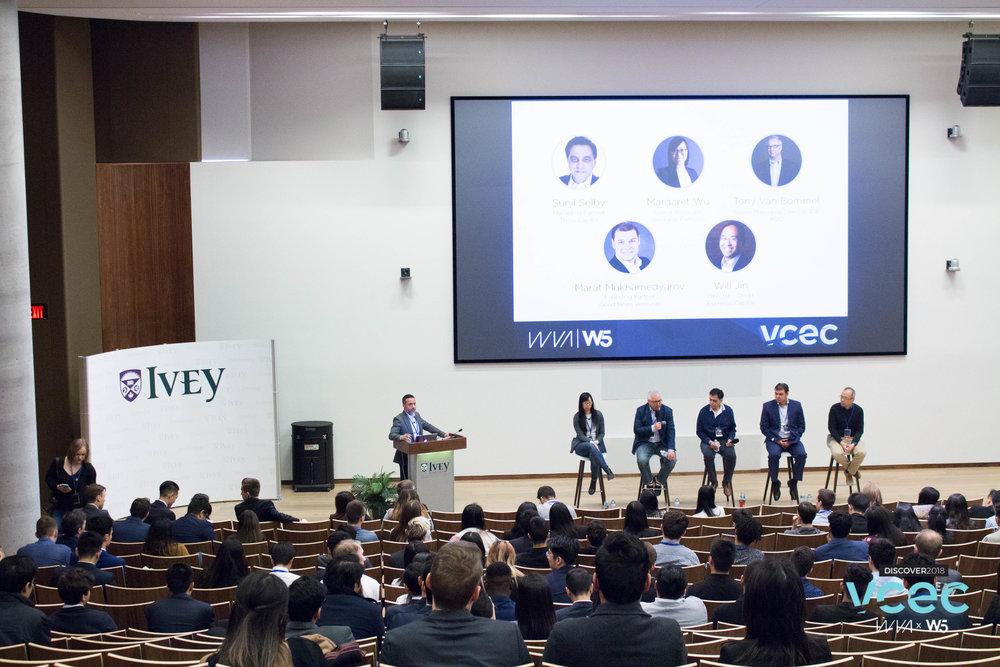 "Panel Moderator:""Building Careers in Venture Capital"""
