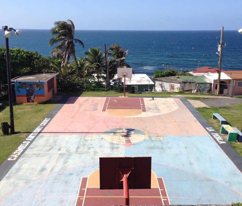Carmelo Anthony Court, Old San Juan, Puerto Rico