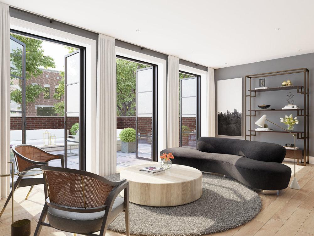 Living Room - Unit 4E