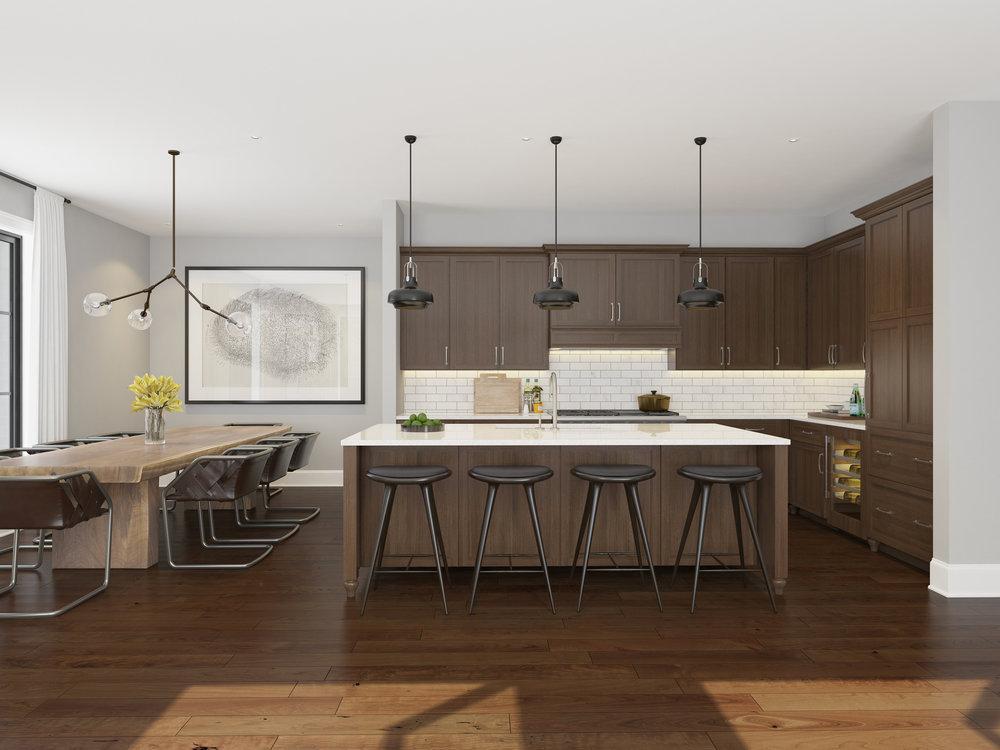 Kitchen/Dining - Unit 4E