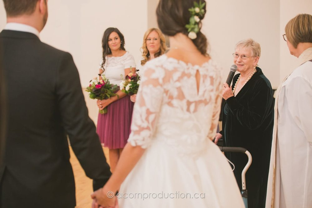 grand mom speech wedding
