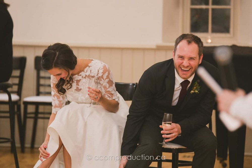 couple react to speech
