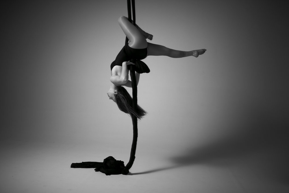 Aerial Silks Photo by  Wesley Mann