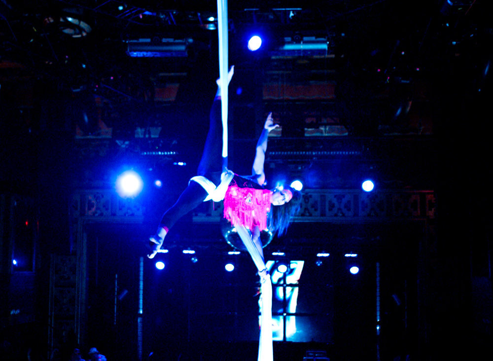 Aerial Silks Webster Hall Photo by  Andrew Foster
