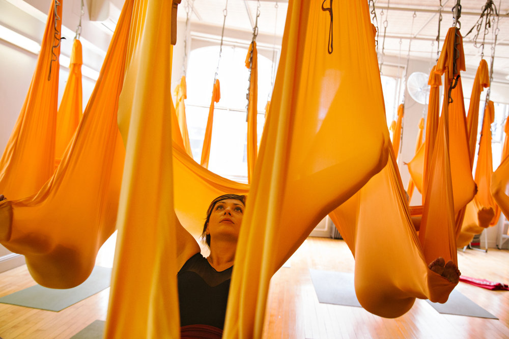 Aerial Yoga Photo by Stephanie Sinclair