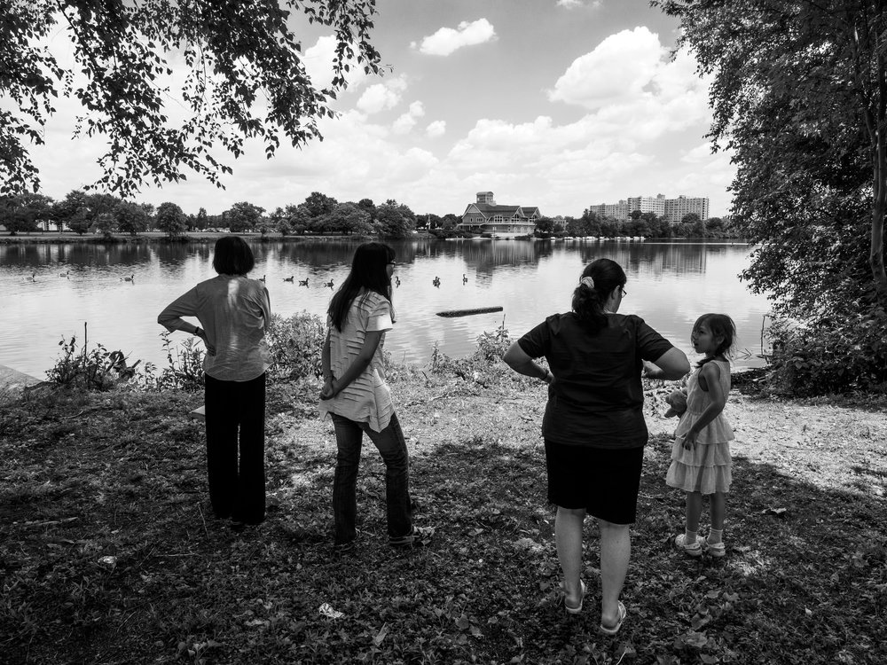 Family at Cooper River.