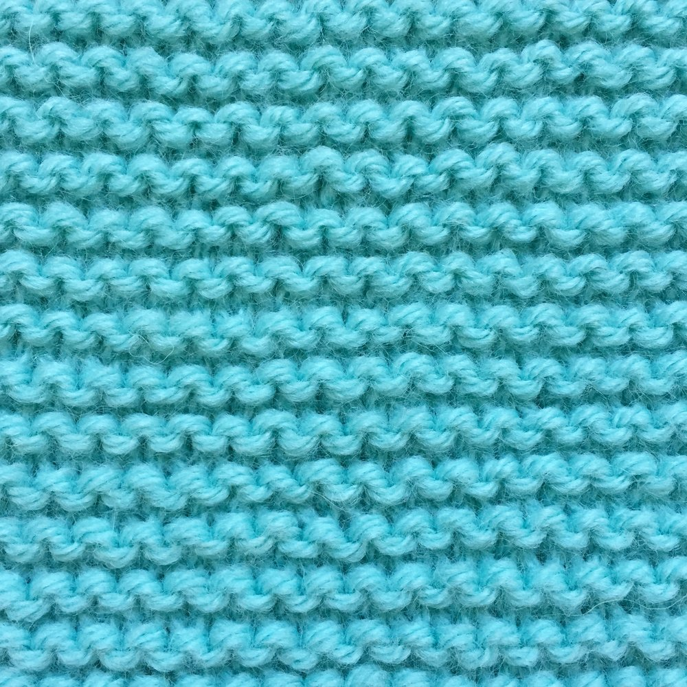 Garter Stitch How to knit