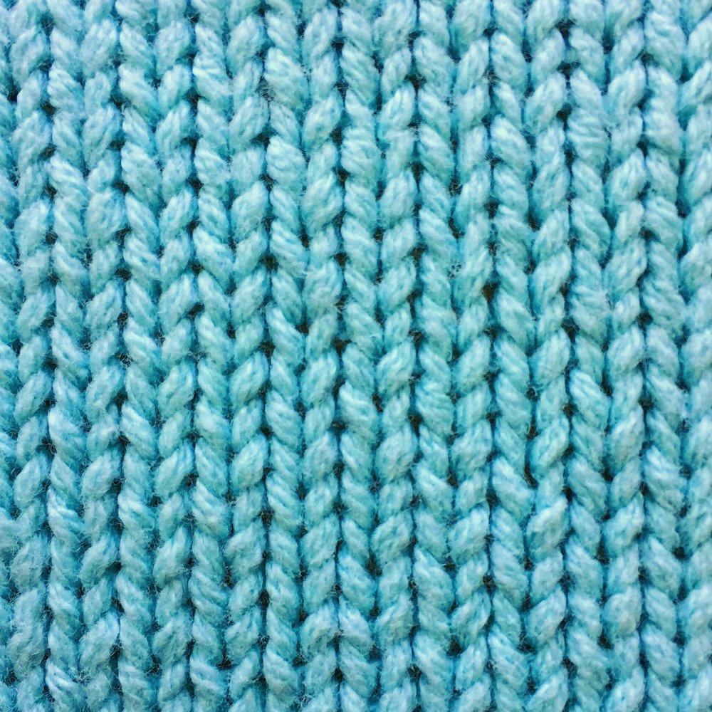 Stockinette Stitch How to knit