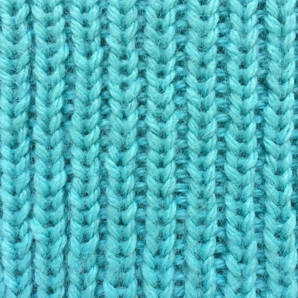 1x1 Rib Stitch How to knit