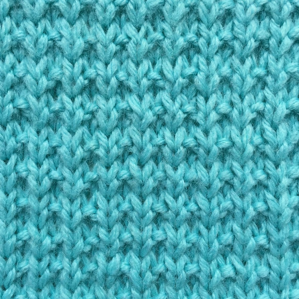 Broken Rib Stitch How to knit