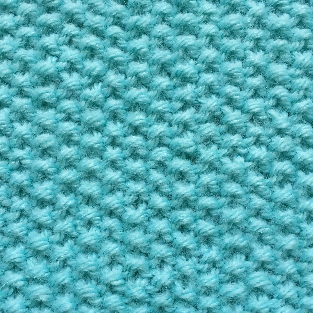Seed Stitch How to knit