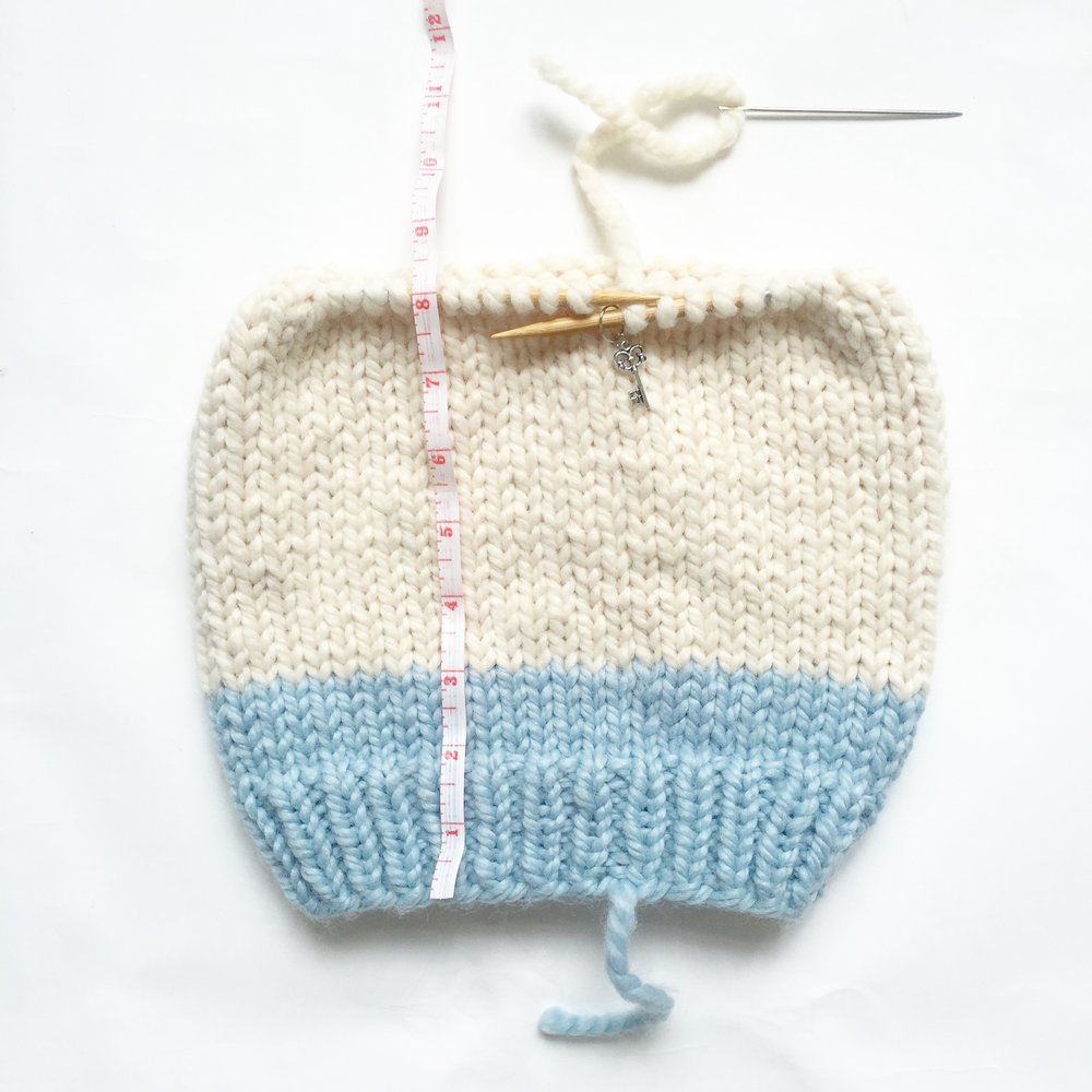 Basic Knitted Hat Decreases