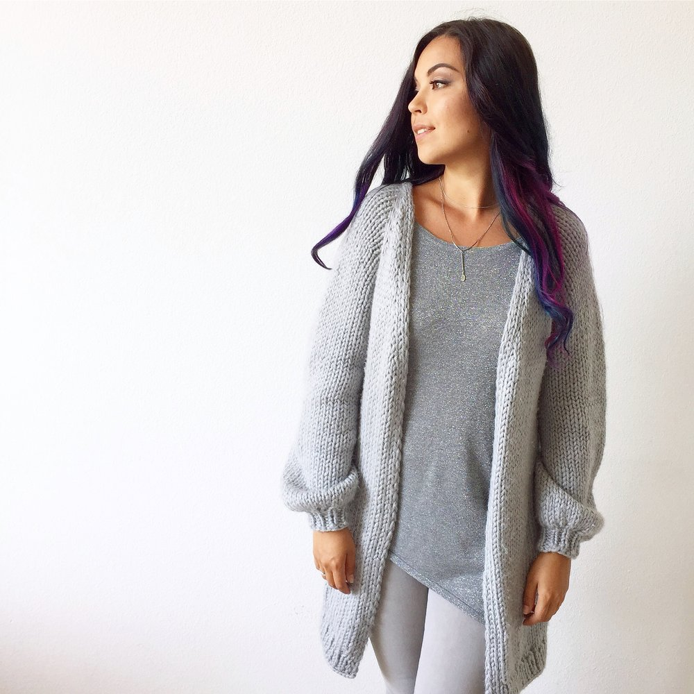 Full Knitted Cozy Cloud Cardigan