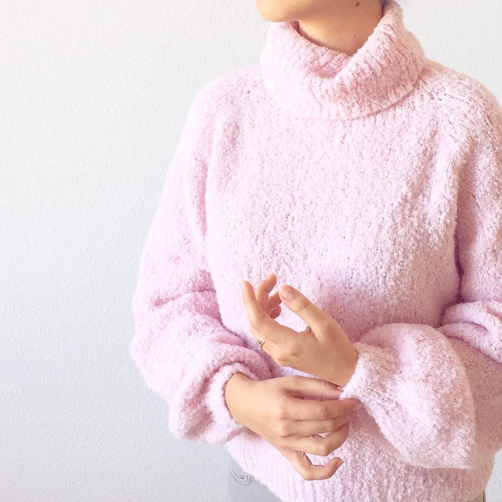How to knit Sugar Cloud Sweater