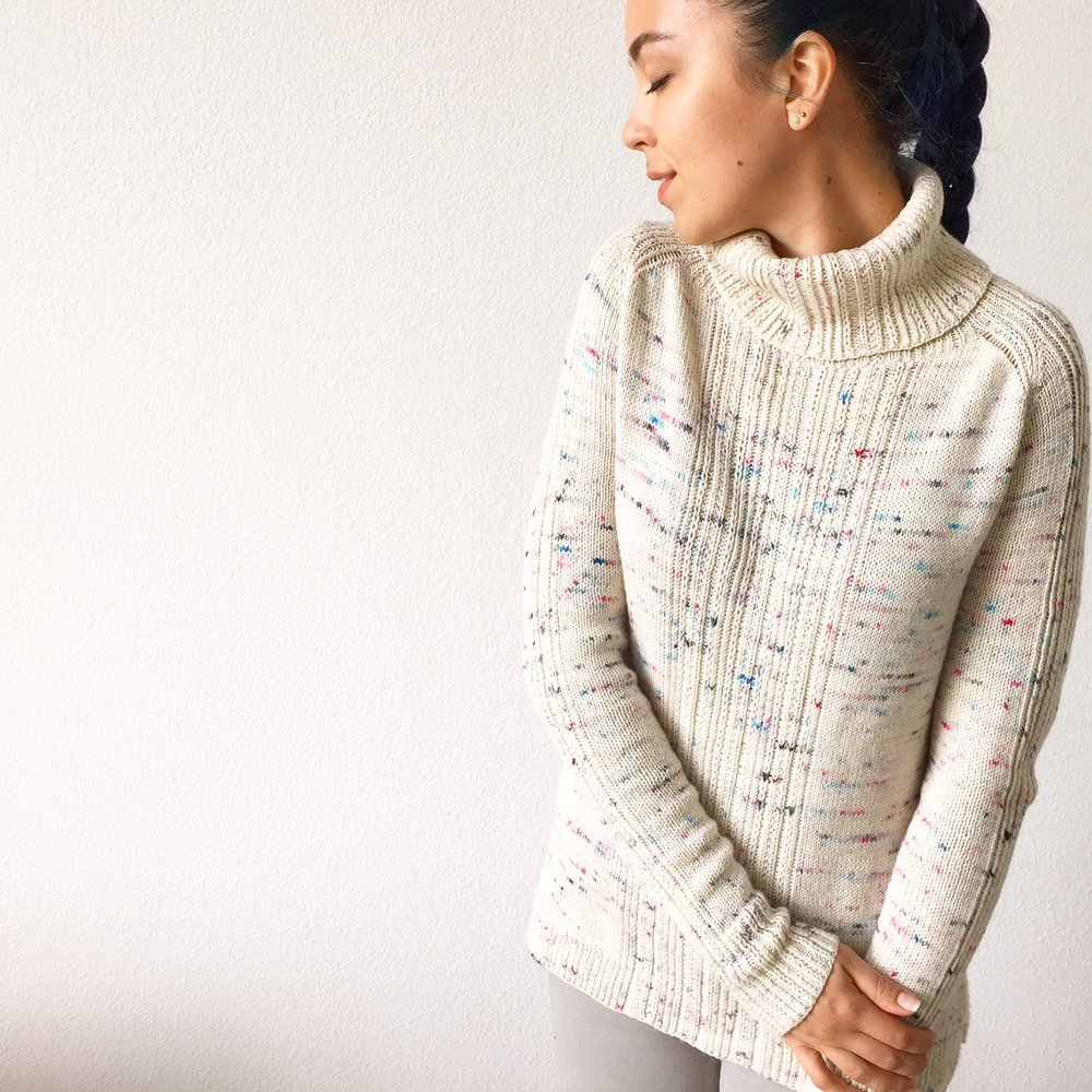 How to knit komorebi sweater