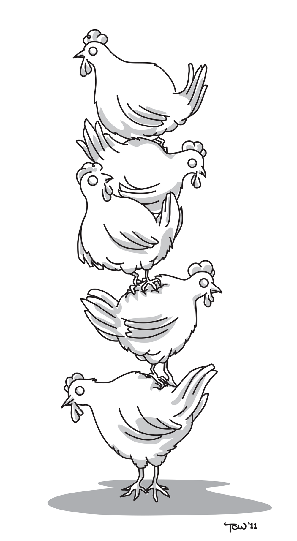 Chicken Stack