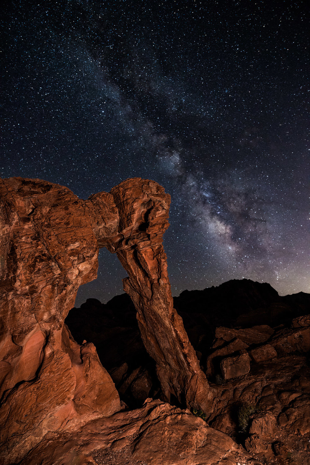 The Milky Way Over Elephant Arch
