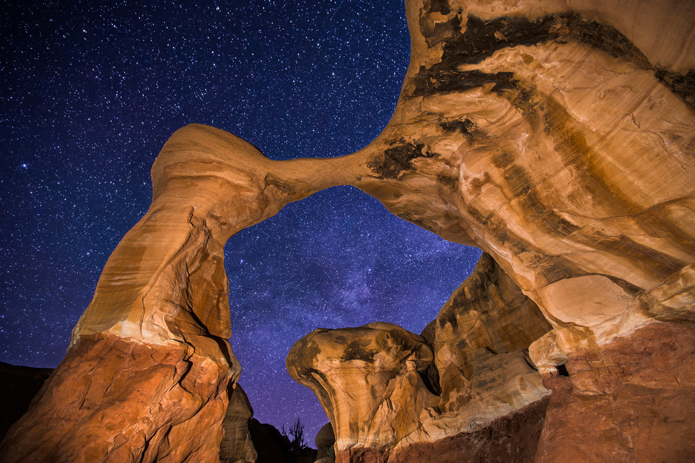 Spring Milky Way at Metate Arch