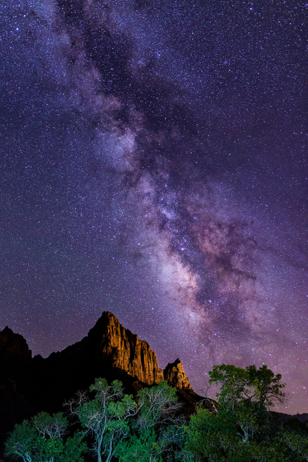 The Milky Way and The Watchman