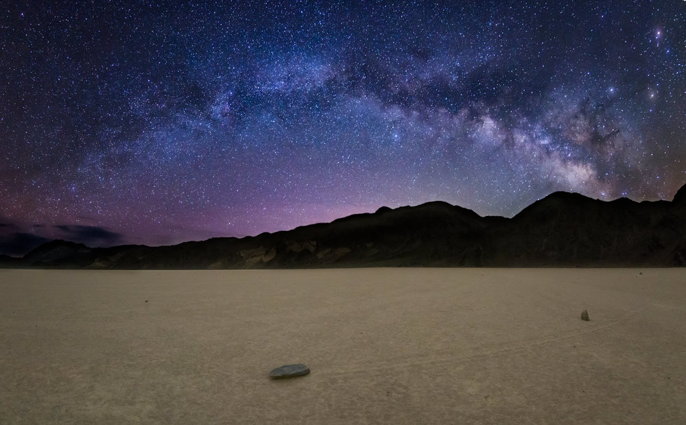 Milky Way Rising Over Racetrack Playa