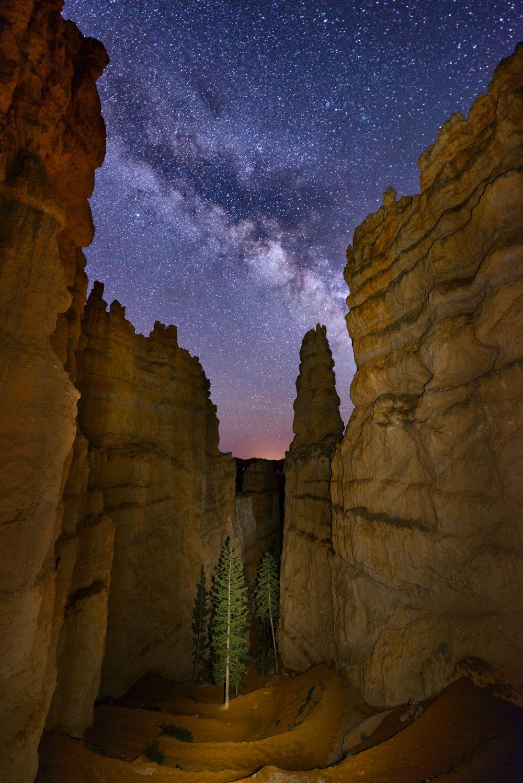 Wall Street & The Milky Way