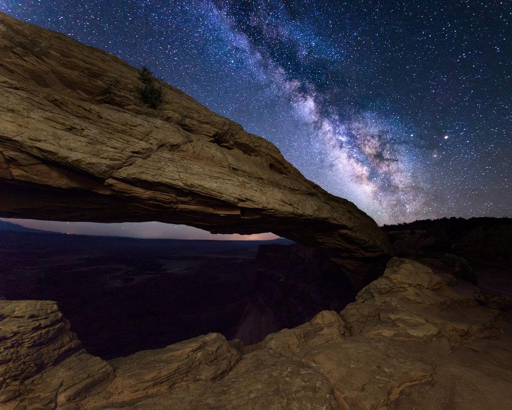 Milky Way & Mesa Arch