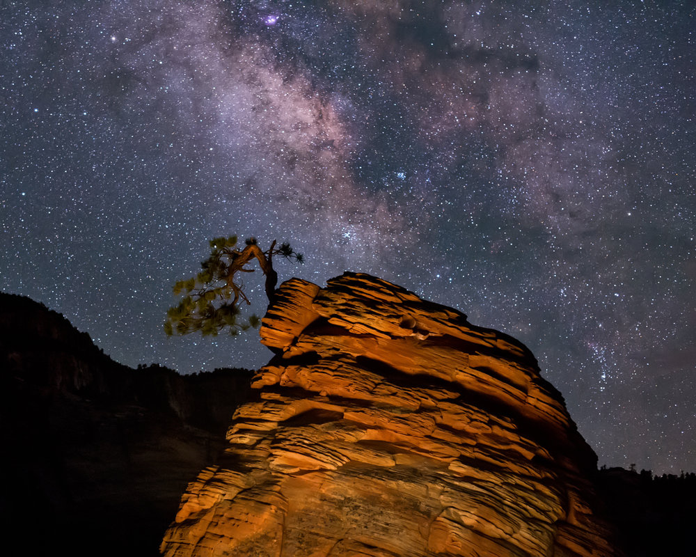 The Infinite and the Lone Pinyon